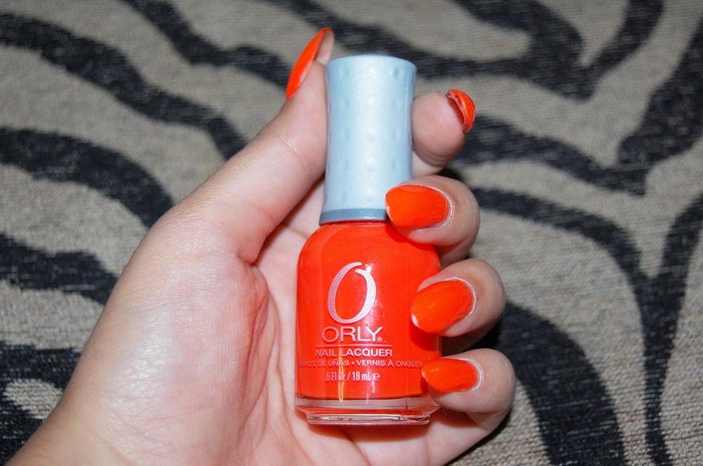 "Nails Did: Orly ""Orange Punch"" nail polish!   VINTAGE VANDALIZM"