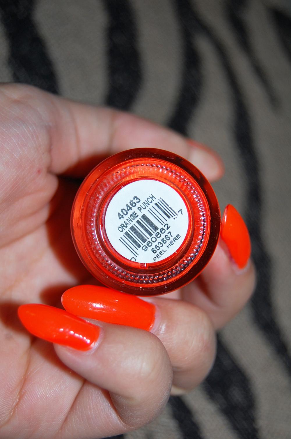 "Nails Did: Orly ""Orange Punch"" nail polish! | VINTAGE VANDALIZM"