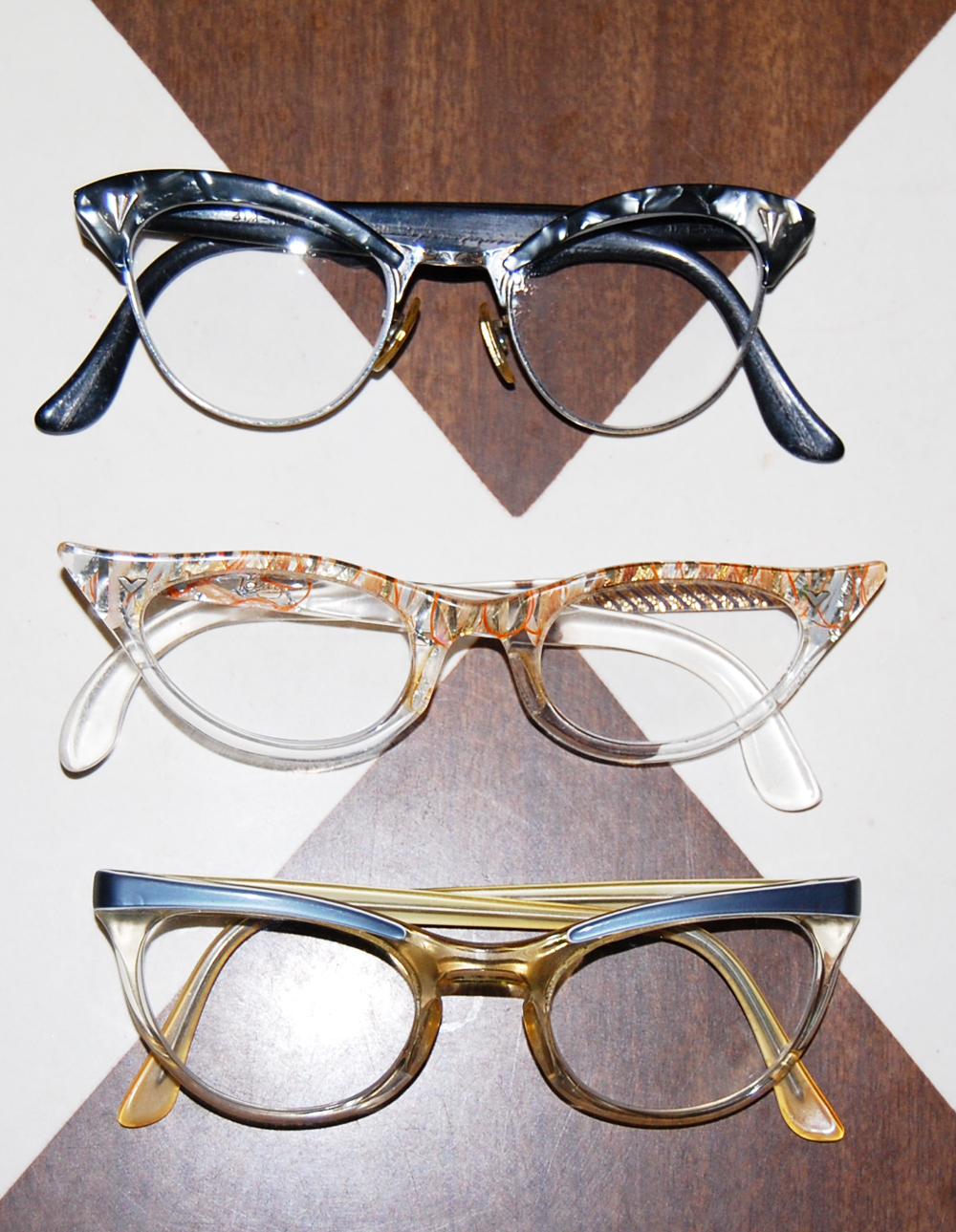 Vintage Cat Eye Glasses 60
