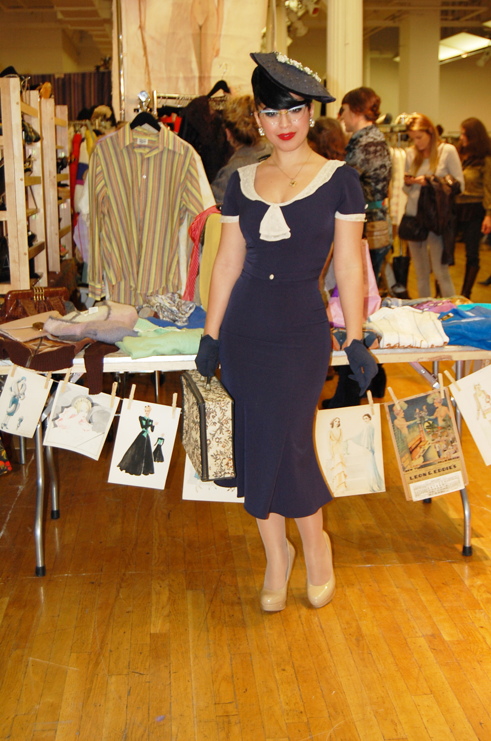 The Diary: Manhattan Vintage Show More pictures