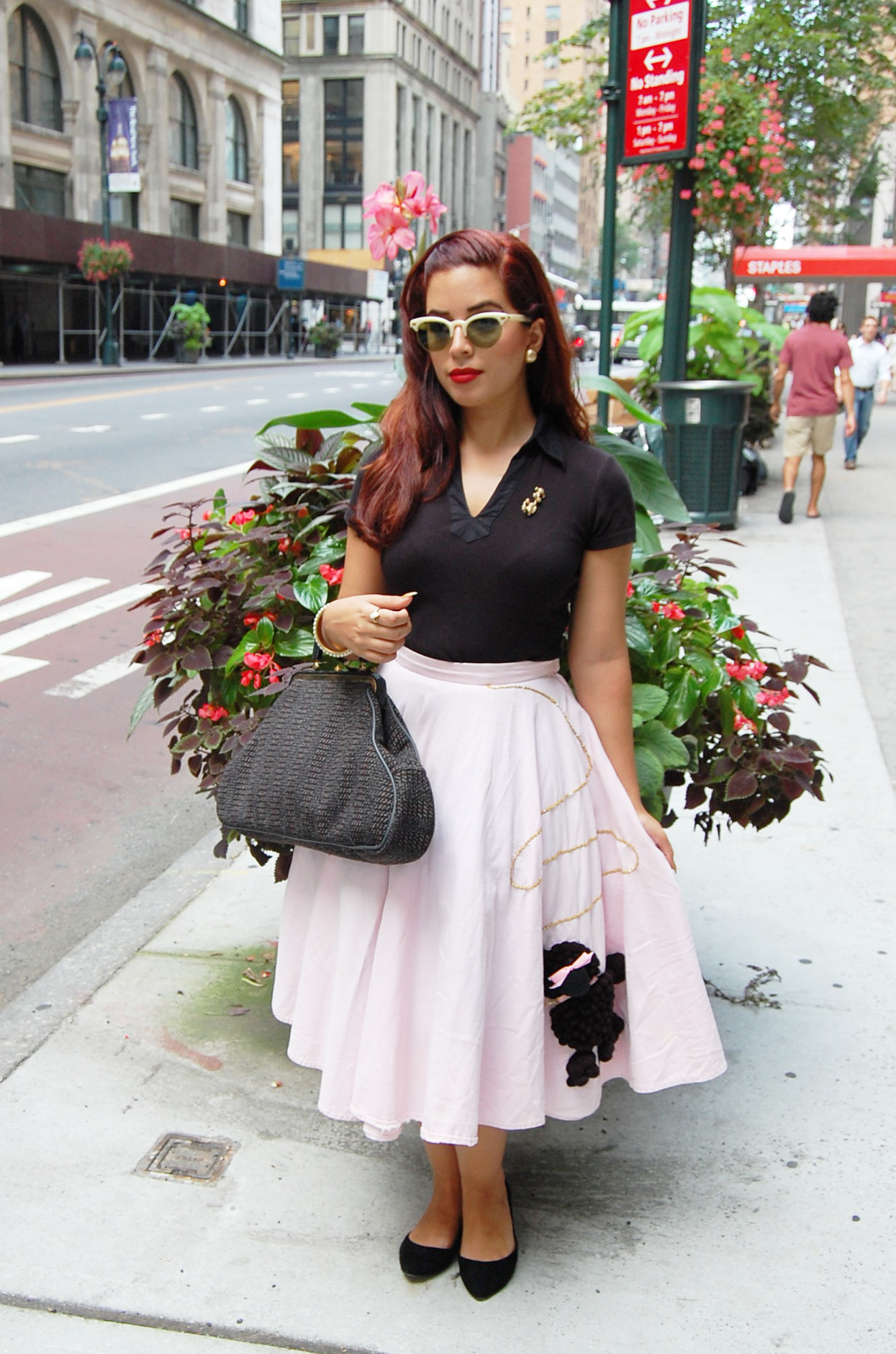 Pinup In A Poodle Skirt