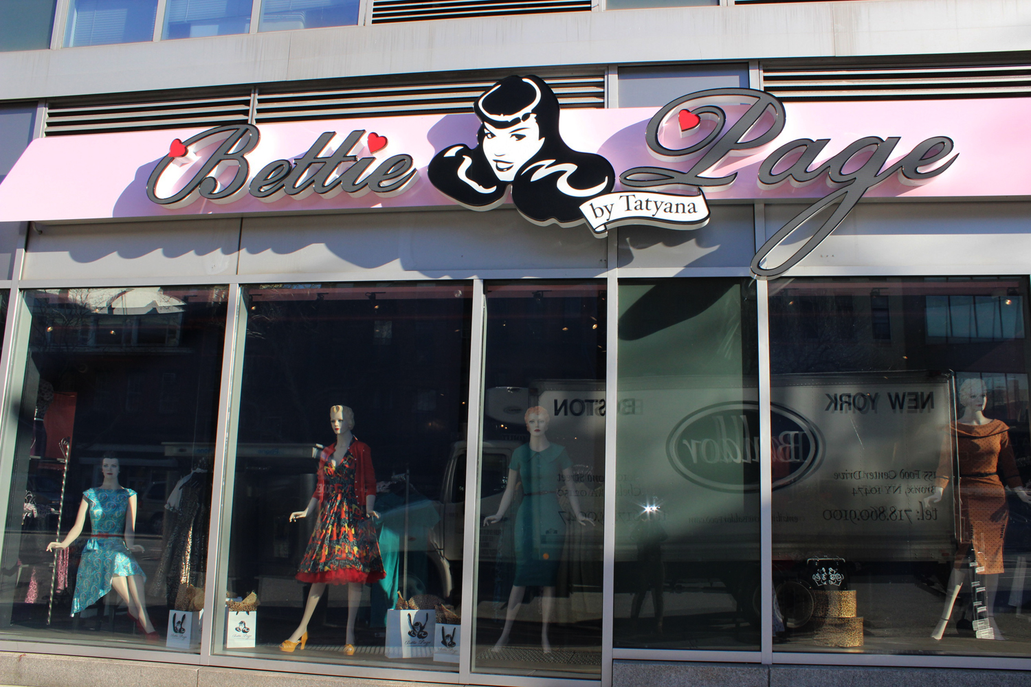 Bettie Page Clothing Store New York