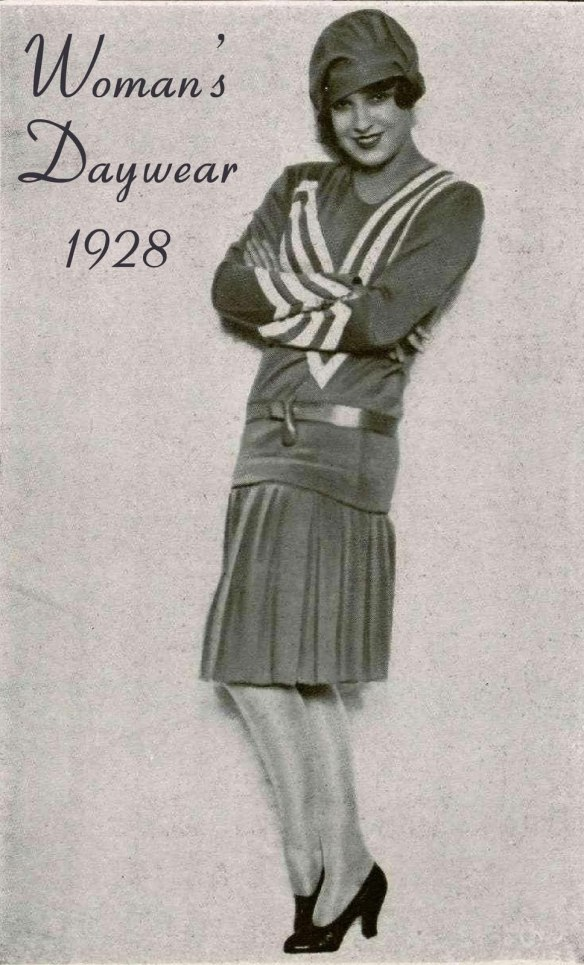 womans daywear 1928-glamourdaze