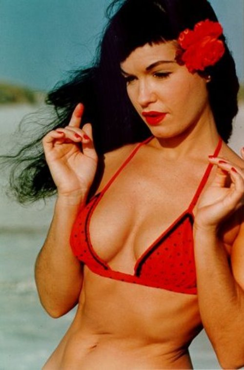 Betty Page Photos: The Creative Side Of Bettie Page