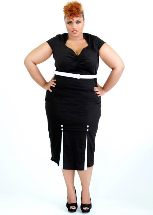 Plus size dress vegas january