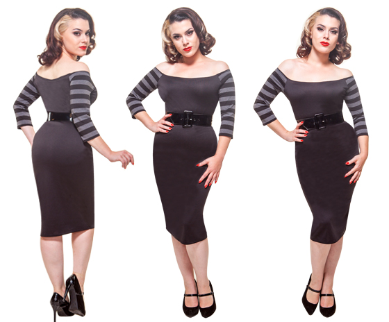 vamp-dress-gray-stripe-view