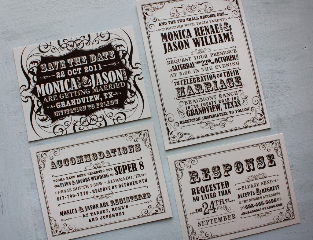 Antique Wedding Invitation Ideas with perfect invitations ideas